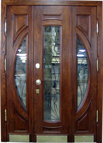 Производство входных деревянных дверей