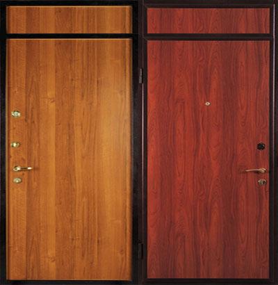 металлическую дверь с верхней вставкой купить