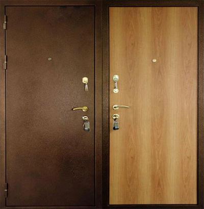 плюсы металлических дверей