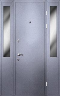 стальные двери с боковиной