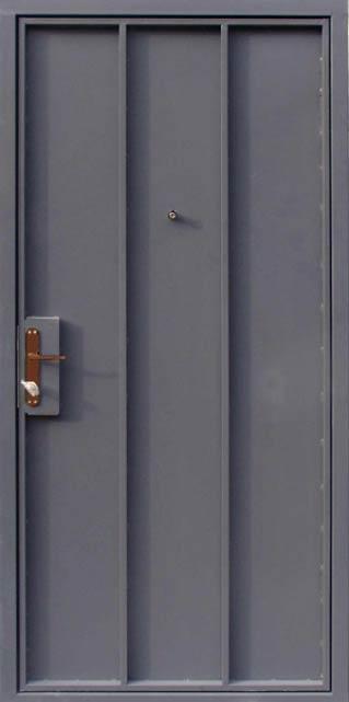 дверь металлическая глухая 1200 2100 с порошковым покрытием